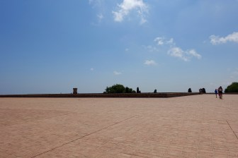 Roof of Castell de Montjuïc
