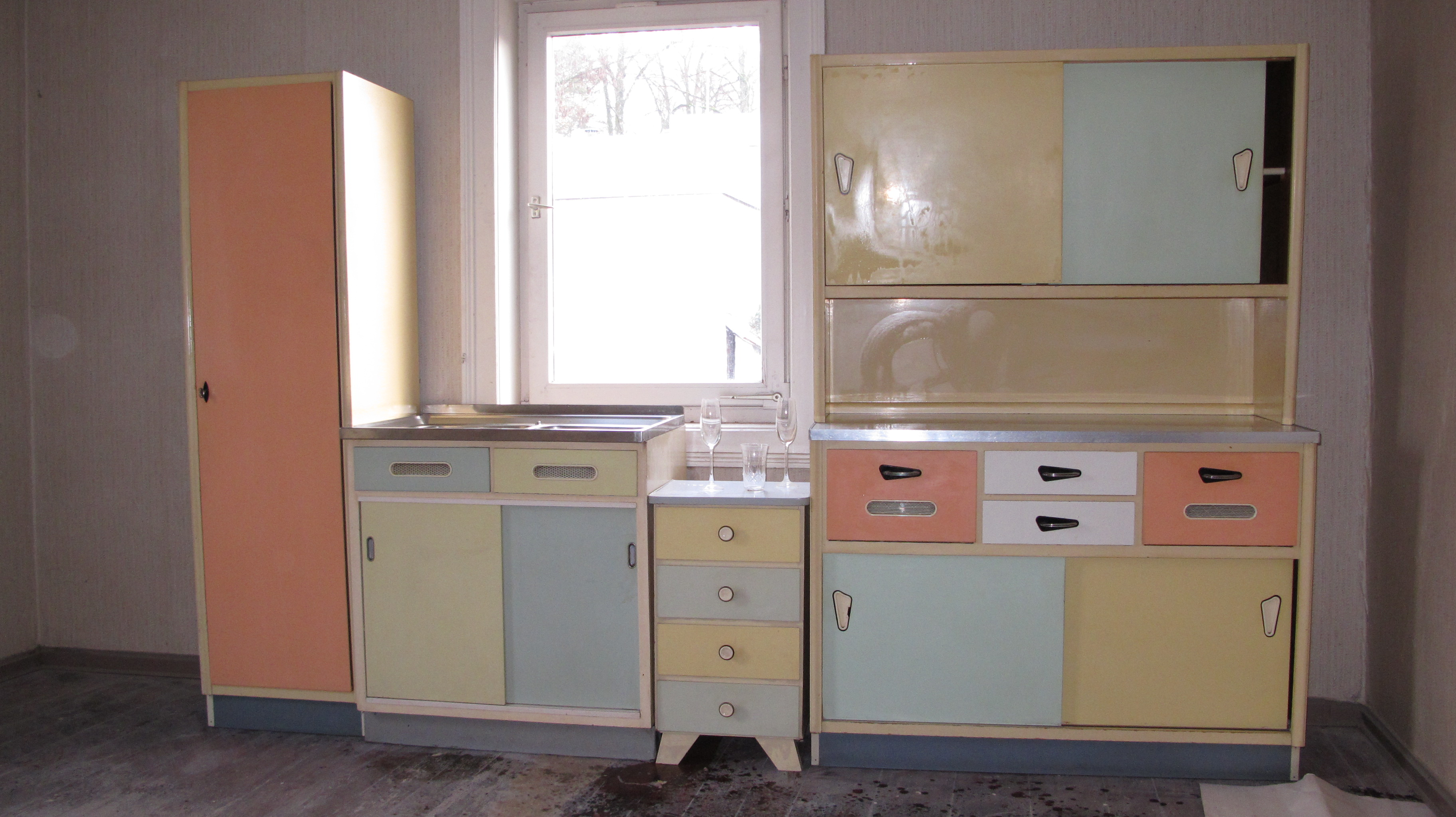 Hängeschrank Küche 50er Jahre | 70er Jahre Küche 50er Kuche