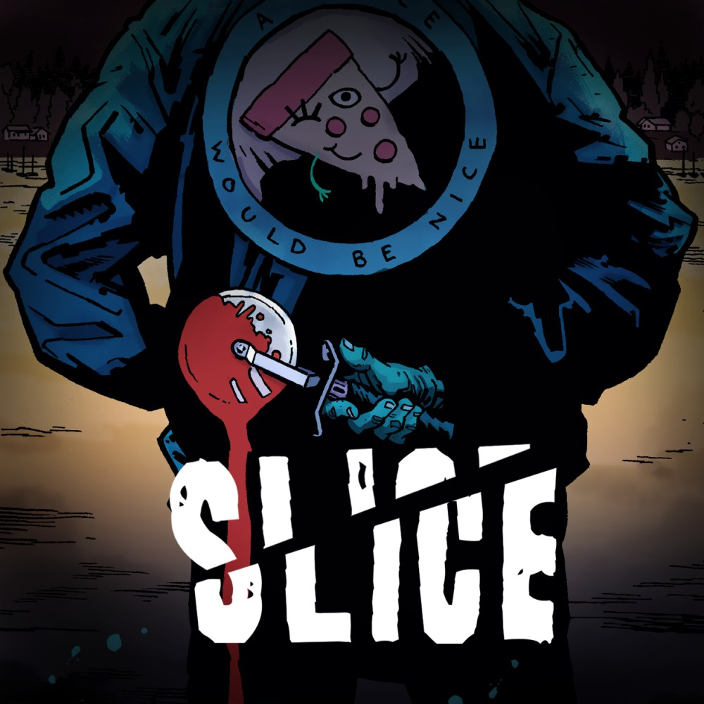 Slice, the off the wall horror graphic novel from Stela