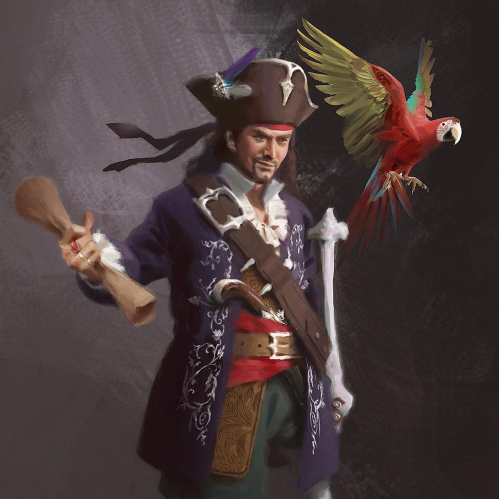 Long John Silver from Treasure Island