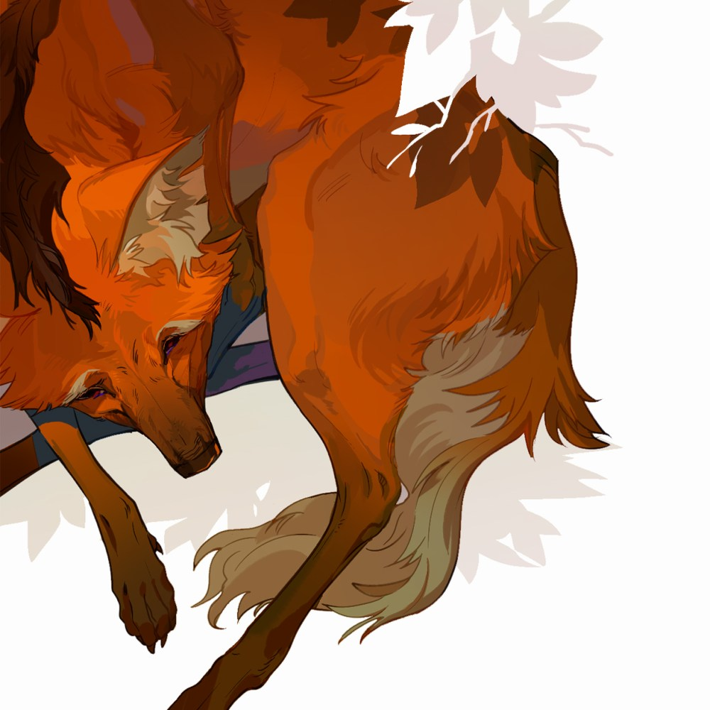 Mother the maned wolf