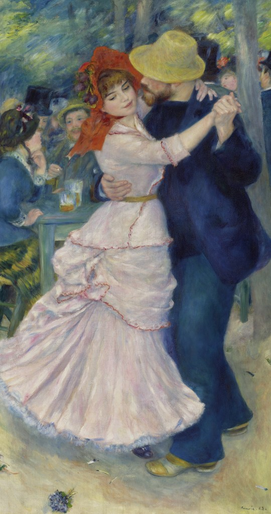 Dance At Bougival, Pierre-Auguste Renoir, 1883