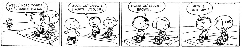 Peanuts October 1950