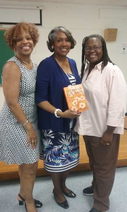 Reading and Book Signing at Enoch Pratt Free Library's Writers' Live Series --Northwood Branch, April 15, 2016