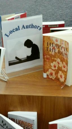 Display at Towson Public Library - 2014