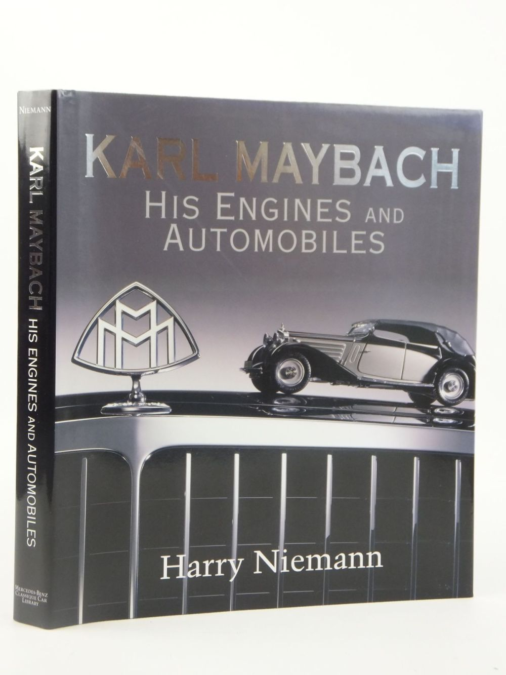 medium resolution of photo of karl maybach his engines and automobiles written by niemann harry published by mercedes
