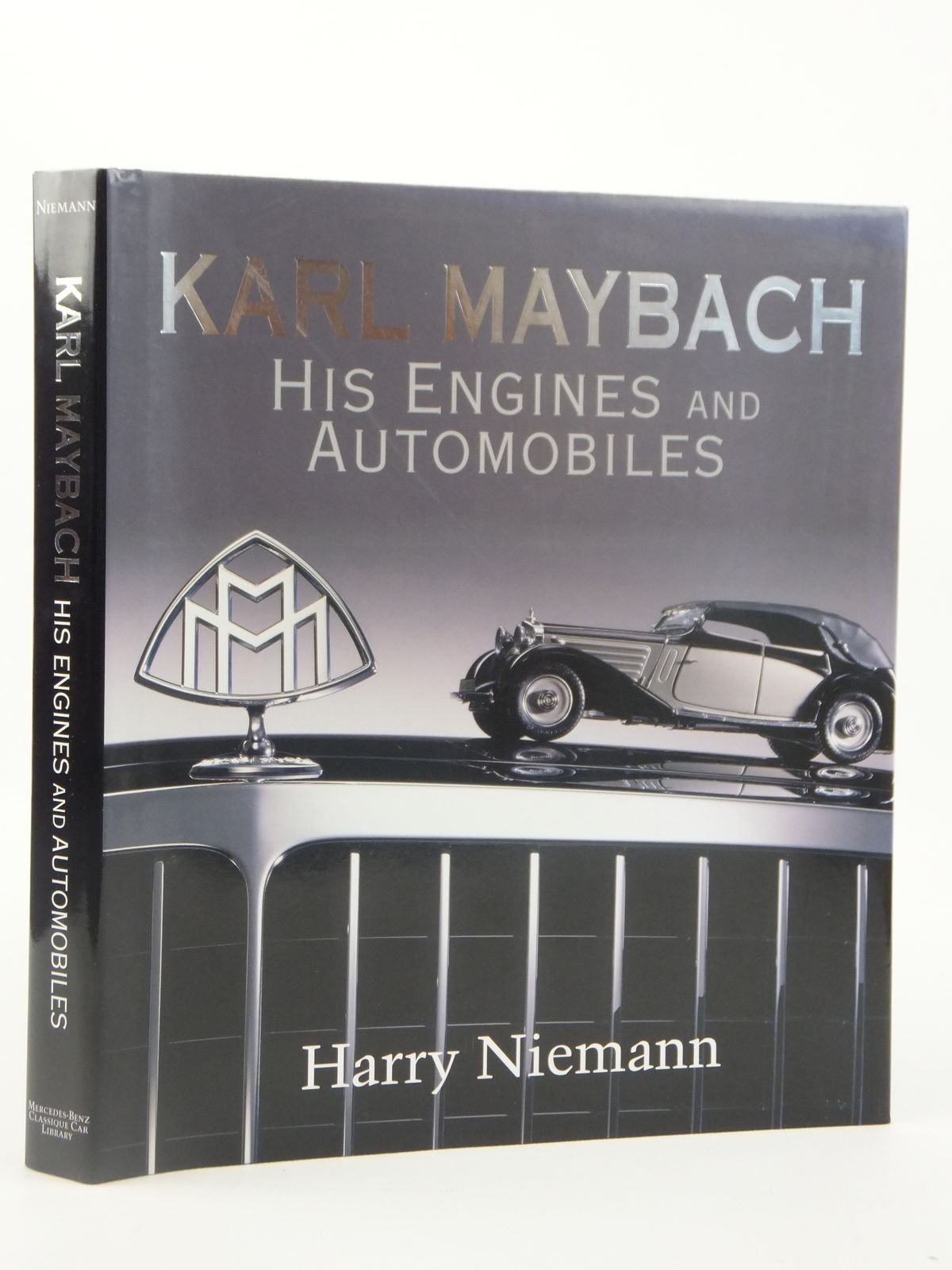 hight resolution of photo of karl maybach his engines and automobiles written by niemann harry published by mercedes