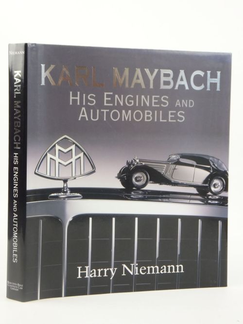 small resolution of photo of karl maybach his engines and automobiles written by niemann harry published by mercedes