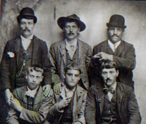 Men of the Lippi family, ca 1890, Stella Cilento, Campania, Italy