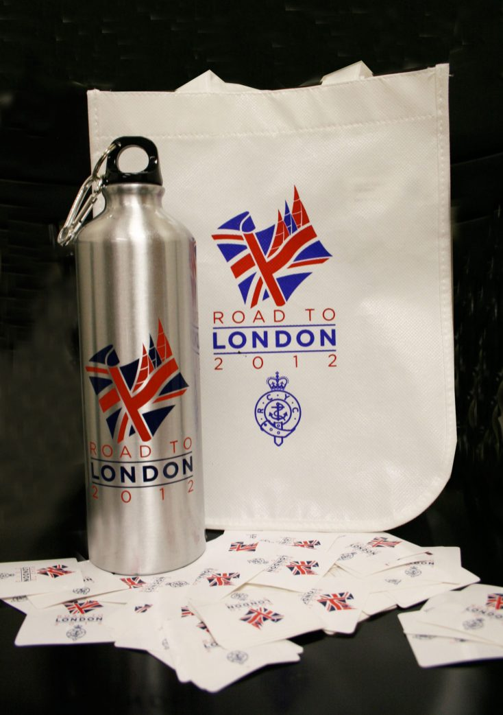 Road to London 2012 - Logo Application