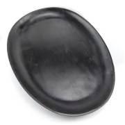 Lightweight gifts for postage, Black tray. oval platter. wedding gift, cheese board, antipasta platter