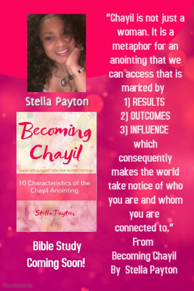 Becoming Chayil Bible Study