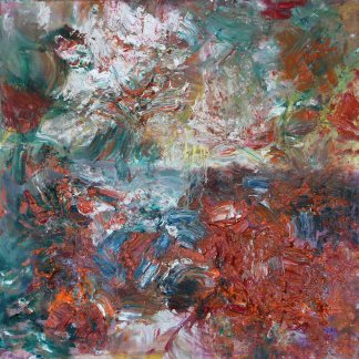 """Abstract art """"Urgence de joie 2"""" by Stella Polare"""