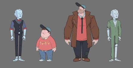 Rob and Detective Boy Original Designs