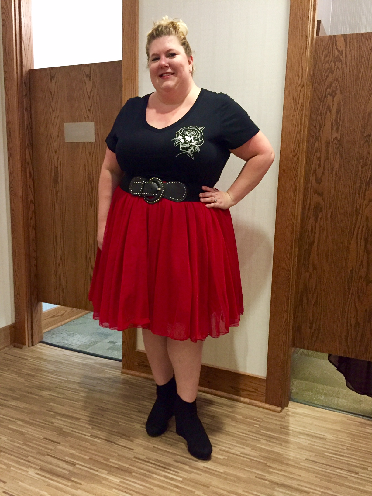 6 month red dress torrid
