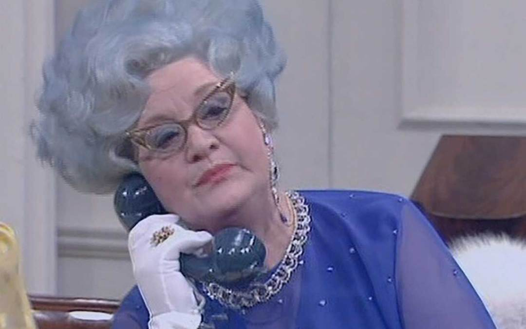 Mrs Sugden from Are you being served?