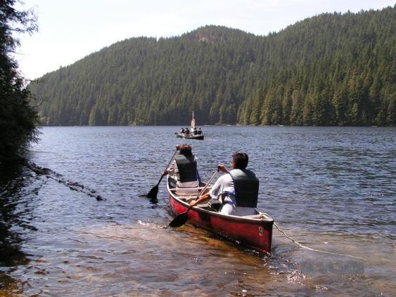 Loon Lake Canoeing