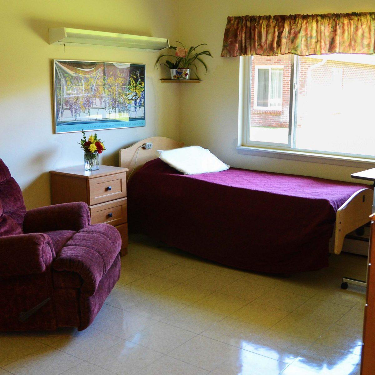 Skyline Ridge Nursing & Rehab Center Room
