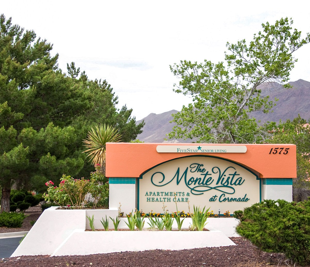 MonteVista at Coronado Front Sign El Paso TX