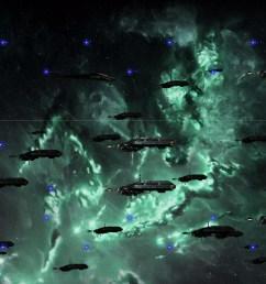 drifter wars turns eve online into a side scroller [ 1400 x 713 Pixel ]