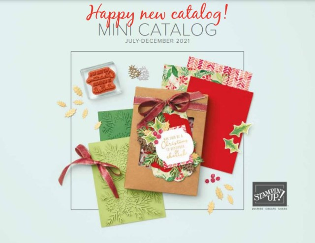 The new Stampin' Up! holiday catalog is here!