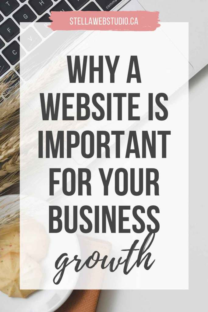 Why a website is important for my business growth