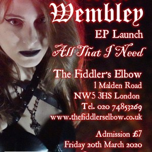 Stella Wembley All That I Need Ep Launch Poster