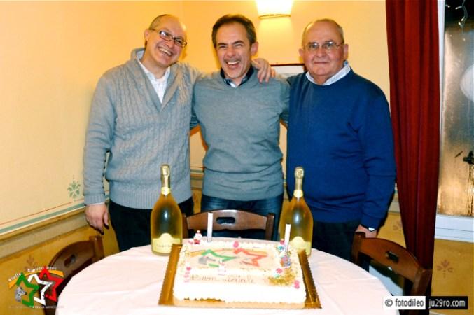 I soci fondatori: Francesco, Gianni e Silvano