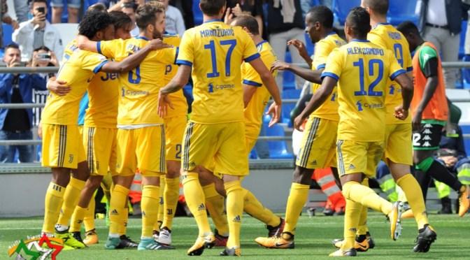 la Signora in giallo con Trybala stende il Sassuolo