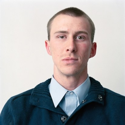 Young man in blue, 2009
