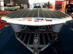 CEL Manila 2008 Sinag solar powered car