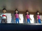 Dayo figurines (Anna and Bubuy)