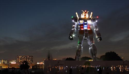 Japan's lifesize Gundam