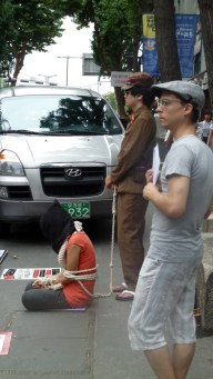 Insadong: protest