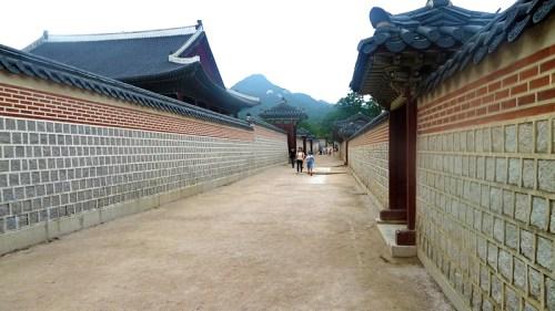 Gyeongbokgung: wall