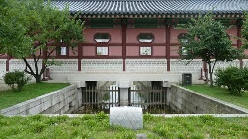 Gyeongbokgung: water channel