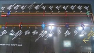 Subway: Line 9 map