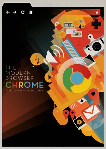 Chrome the modern browser by Mike Lemanski
