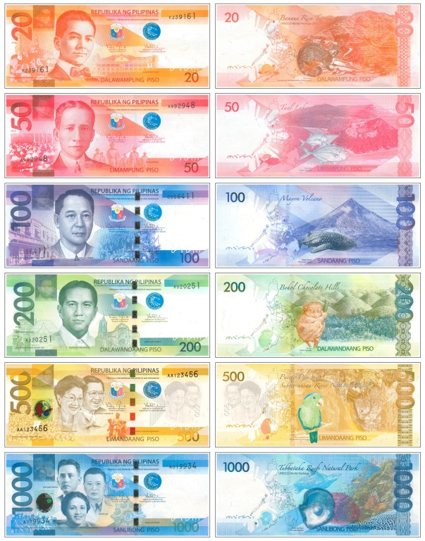 New generation Philippine peso currency