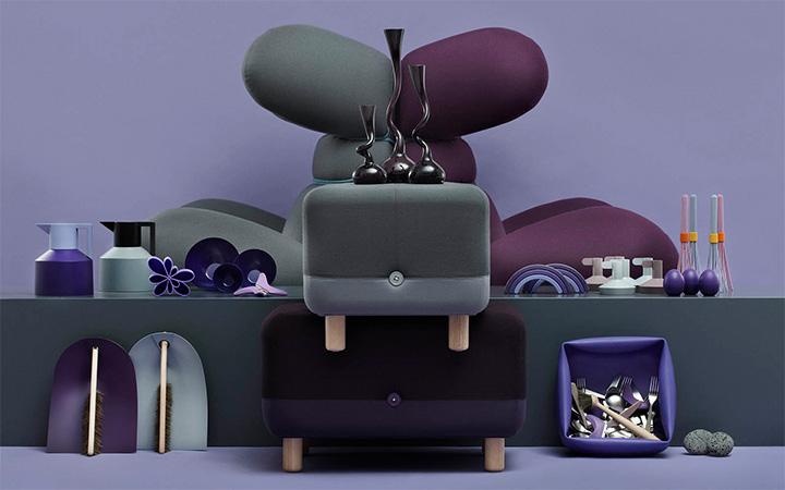 Normann Copenhagen Galleria Grey vs. Purple