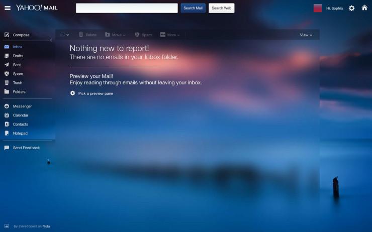 Inbox zero: Yahoo! Mail
