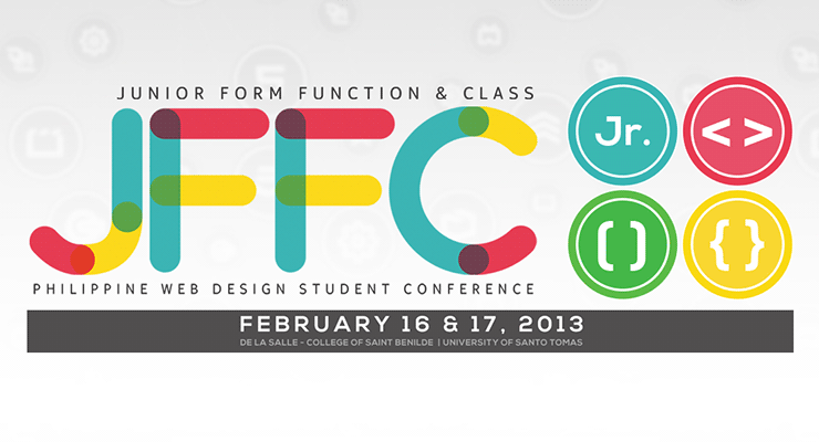 Junior Form Function & Class Philippine Web Design Student Conference