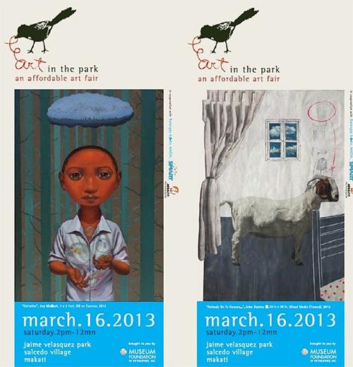 Art in the Park 2013 brochure
