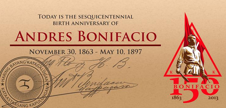 Andres Bonifacio Sesquicentennial