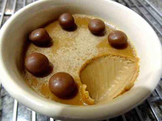 Malted Milk Chocolate Pots de Creme