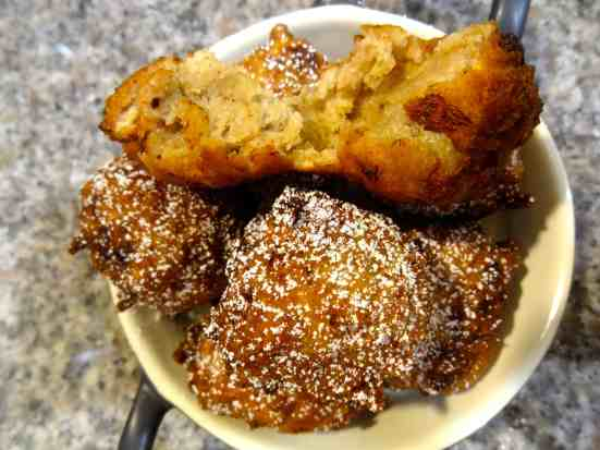 Bananas Foster Fritters 11