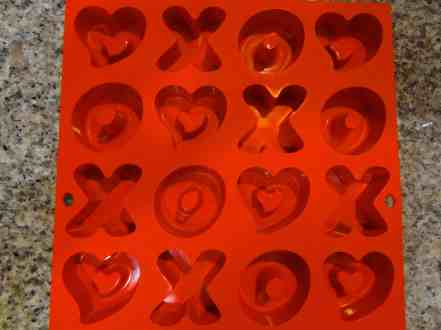 Heart XO Cakes 4