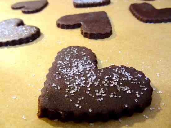 Chocolate Ginger Molasses Cookies 6