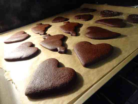 Chocolate Ginger Molasses Cookies 7