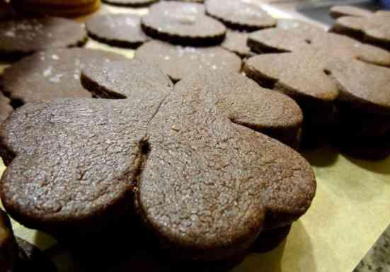 Chocolate Shamrocks 7
